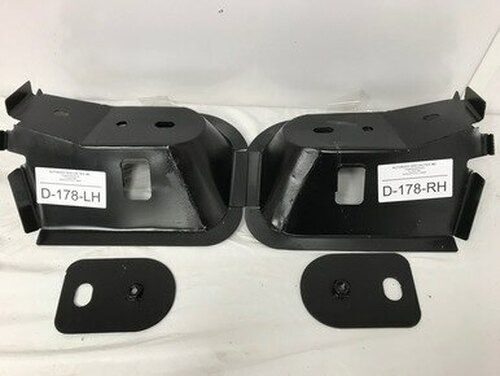 1994-2001 DODGE RAM PICKUP STEEL FRONT CAB MOUNTS W/ NUT PLATES (sold as a pair) (D-178-P)