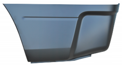 LH / 2009-2017 DODGE RAM BEDSIDE LOWER REAR SECTION (66.5 in. and 74.5 in. bed)