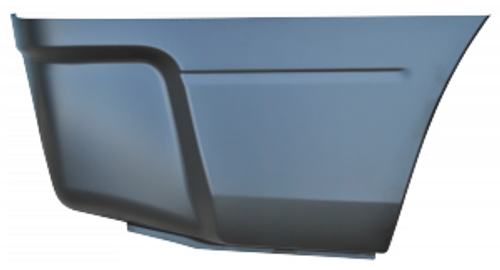 RH / 2009-2017 DODGE RAM BEDSIDE LOWER REAR SECTION (66.5 in. and 74.5 in. bed)