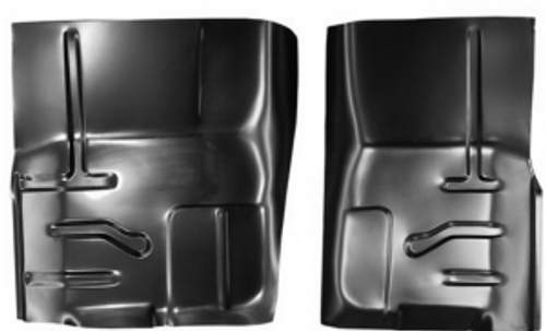 1980-98 FORD PICKUP & BRONCO FRONT FLOOR PAN SECTIONS (sold as a pair)