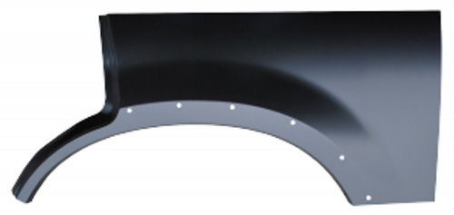 LH / 2002-2005 EXPLORER REAR UPPER WHEEL ARCH (with molding holes)