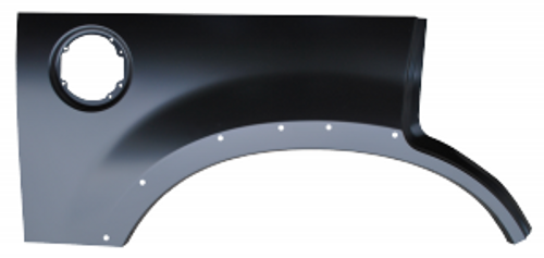 RH / 2002-2005 EXPLORER REAR UPPER WHEEL ARCH (with molding holes)