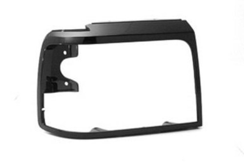 RH / 1992-98 FORD TRUCK HEADLIGHT BEZEL-BLACK
