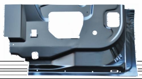 RH / 1999-2016 FORD SUPERDUTY INNER DOOR BOTTOM-REAR DOOR (4 door extended cab)