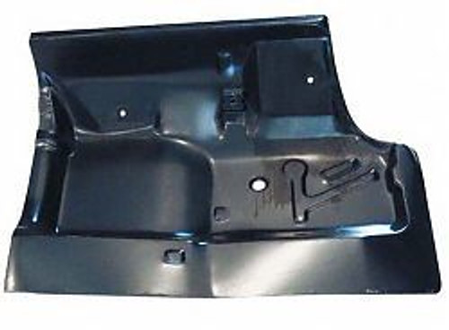 LH / 1968-72 GM A-BODY UNDER REAR SEAT PATCH PANEL