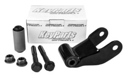 1975-2007 FORD TRUCK & VAN REAR LEAF SPRING SHACKLE KIT (sold as each)