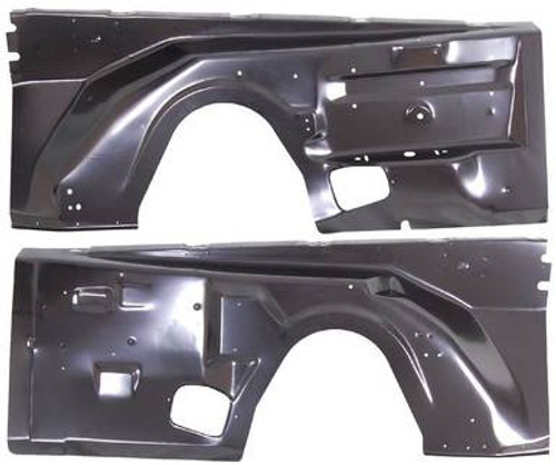 1972-74 E-BODY & 1972 B-BODY FRONT INNER FENDERS (sold as a pair)