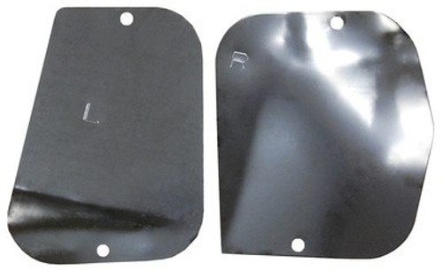 1966-1970 DODGE & PLYMOUTH B-BODY  FRONT INNER FENDER COVER PLATE SET