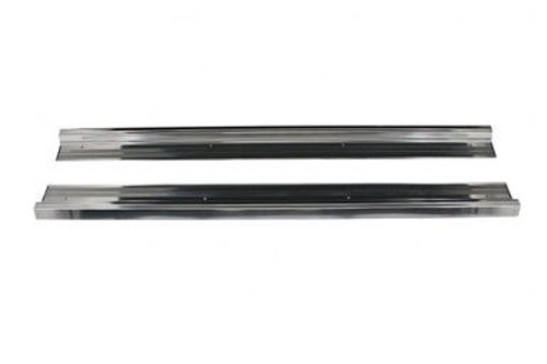 1967-76 DODGE & PLYMOUTH A-BODY DOOR SILL PLATES (sold as a pair)