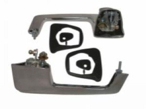 1962-65 DODGE & PLYMOUTH B-BODY OUTSIDE DOOR HANDLE ASSEMBLY (pair)