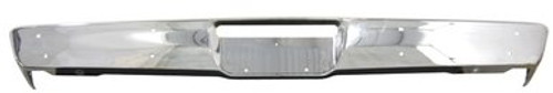 1970-1971 PLYMOUTH A-BODY FRONT CHROME BUMPER (without jack slots)