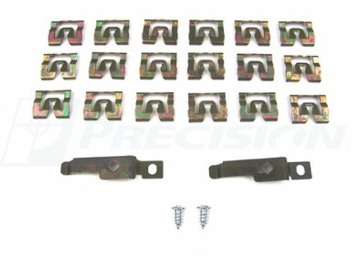 1971-74 BARRACUDA & CHALLENGER REAR WINDOW CLIP SET