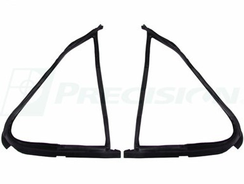 1987-1991 FORD PICKUP & BRONCO VENT WINDOW SEALS (sold as a pair)