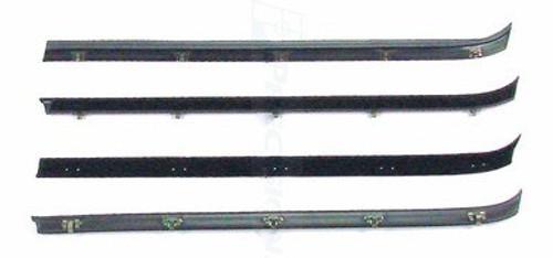 1981-87 CHEVY & GMC TRUCK FRONT DOOR WINDOW WIPE SET (4 piece set)