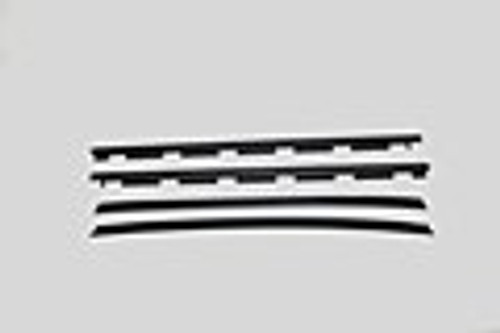 1988-98 CHEVY & GMC TRUCK FRONT DOOR WINDOW WIPE SET (4 piece set)