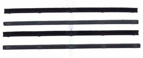 1972-1979 DODGE TRUCK 4 PIECE INNER & OUTER WINDOW WIPE SET