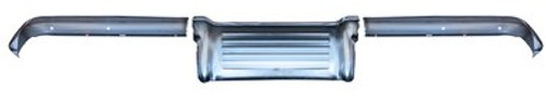 REAR BUMPER   ( 3 PIECES )  / 60 BEL AIR / BISCAYNE / IMPALA