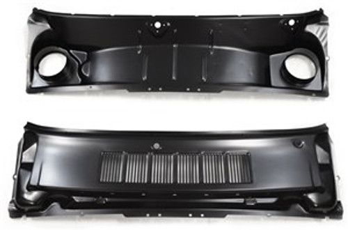 COWL GRILLE PANEL ASSEMBLY /  EARLY 65 TO 66 MUSTANG
