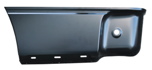 09-14 LOWER REAR BED SECTION, W/O MOLDING HOLES , LH