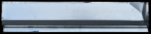 '06-'09 DODGE RAM MEGA-CAB REAR DOOR SLIP ON ROCKER SECTION, LH  1583-007 This rear door slip on rocker extension, driver's side, fits:  2006-2009 Dodge Mega-Cab Pickup
