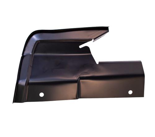 Upper Rear Fender Splash Shield - LH This fits: 1966 - 1967 Ford Fairlane 1967 Ford Ranchero 1966 - 1967 Mercury Comet 1966 - 1967 Mercury Cyclone