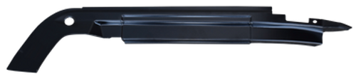 67-'72 INNER ROOF RAIL/WEATHERSTRIP CHANNEL, RH