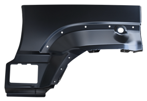 02-'07 REAR UPPER WHEEL ARCH, 0486-148 This passenger's side rear upper wheel arch fits: 2002-2007 Jeep Liberty   Measurement 30x20x5Weight 4lb