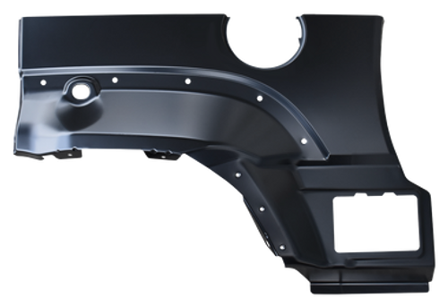 0486-147 This driver's side rear upper wheel arch fits: 2002-2007 Jeep Liberty   Measurement 30x20x5Weight 4lb 02-'07 REAR UPPER WHEEL ARCH, LH