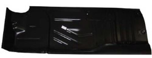 LH / 1955-57 CHEVY FLOOR PANEL HALF (2 hardtop & convertible)