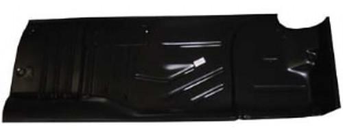 RH / 1955-57 CHEVY FLOOR PANEL HALF (2 door hardtop & convertible)
