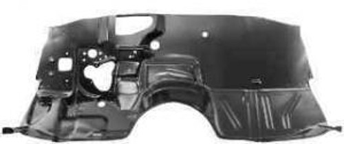 1968-1972 CHEVELLE & EL CAMINO LOWER FIREWALL (heater deleted)
