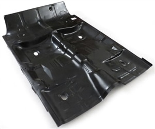 1964-1967 GM A-BODY COMPLETE CAB FLOOR PAN WITH BRACES