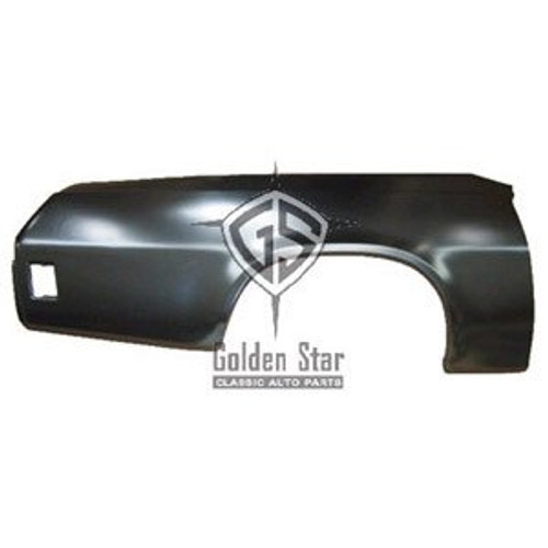 RH / 1973-77 ELCAMINO & SPRINT REAR QUARTER SKIN