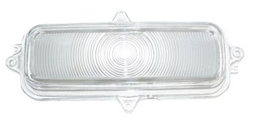 1960-62 CHEVY PICKUP CLEAR PARKING LIGHT LENS (sold as each)