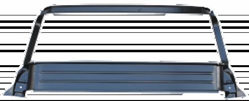 1955-59 CHEVY & GMC PICKUP INNER UPPER REAR WINDOW FRAME (large back glass)