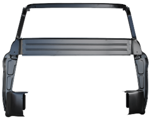 1955-59 CHEVY & GMC PICKUP FULL REAR INNER CAB PANEL (large back glass)
