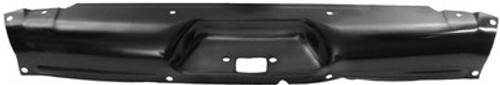 1958-59 CHEVY PICKUP HOOD LATCH PANEL-BLACK STEEL