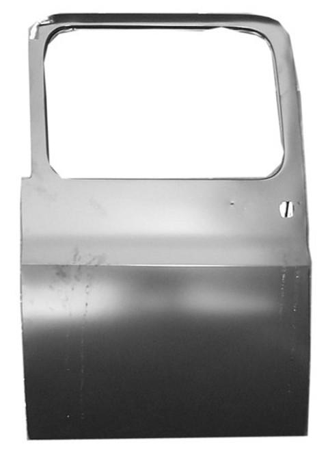 LH / 1973-91 CHEVY & GMC PICKUP / SUBURBAN REAR DOOR SHELL (4 door crew cab)