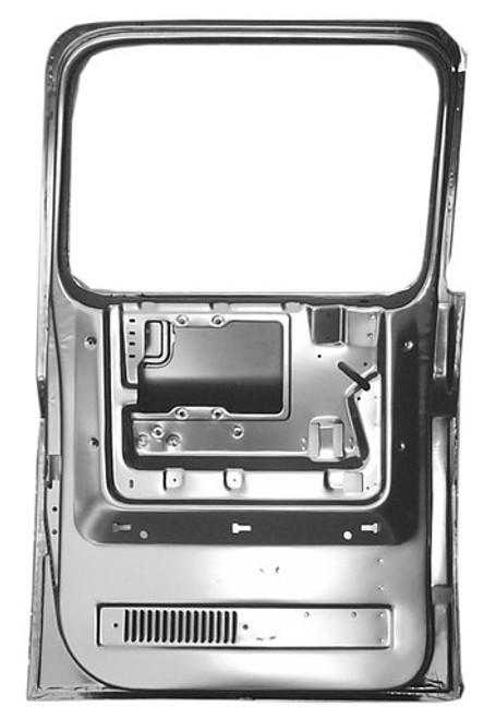 RH / 1973-91 CHEVY & GMC PICKUP / SUBURBAN REAR DOOR SHELL (4 door crew cab)