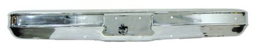1973-1980 CHEVY & GMC TRUCK CHROME FRONT BUMPER (w/o pad holes)