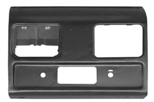 1960-63 CHEVY & GMC TRUCK STEEL RADIO DASH SECTION