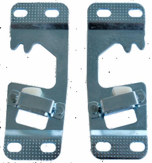 1960-66 CHEVY & GMC PICKUP DOOR SRIKER PLATE SET