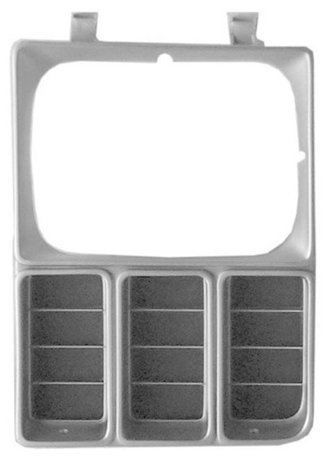 LH / 1981-1982 CHEVY TRUCK HEADLAMP DOOR (single headlights)