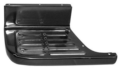 LH / 1967-1972 CHEVY & GMC PICKUP REAR SIDE STEP PLATE (shortbed stepside)