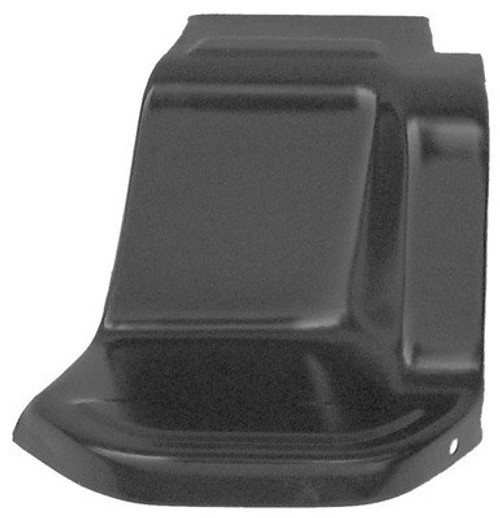 LH / 1973-87 CHEVY & GMC PICKUP REAR SIDE STEP PLATE (shortbed stepside)