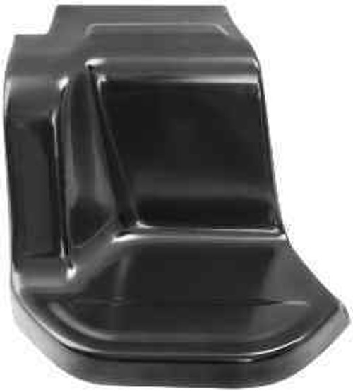 RH / 1973-87 CHEVY & GMC TRUCK REAR SIDE STEP PLATE (shortbed stepside)