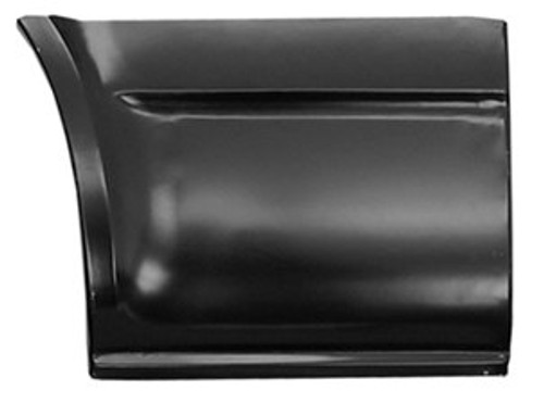 RH / 1971-95 CHEVY & GMC VAN REAR QUARTER-FRONT SECTION RH