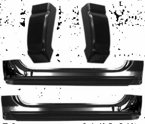 1999-2006 CHEVY & GMC PICKUP 4 PIECE CAB REPAIR KIT (2 door standard cab)
