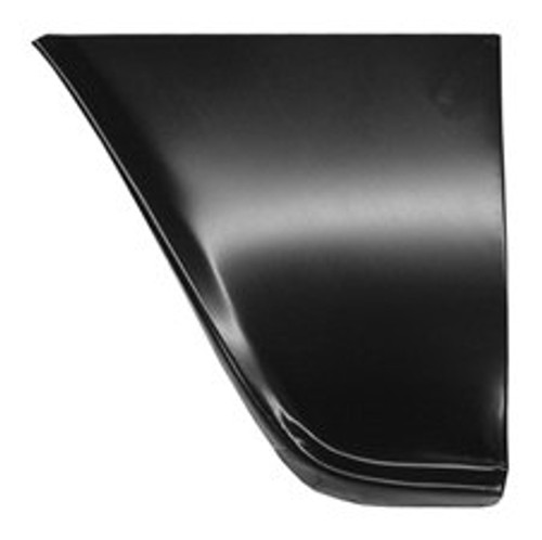 LH / 1960-66 CHEVY & GMC TRUCK FRONT FENDER-LOWER REAR SECTION