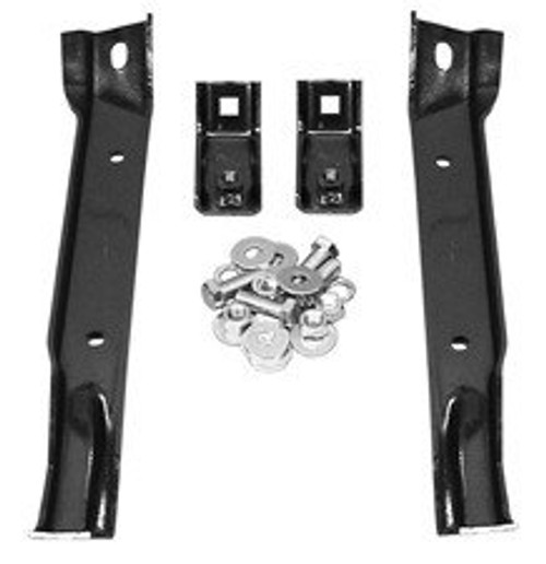 1967-1970 CHEVY & GMC TRUCK FRONT BUMPER BRACKET SET-4WD